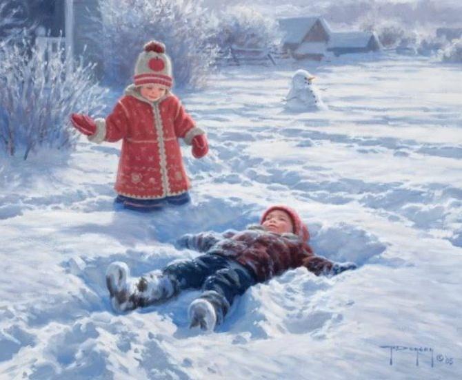 Результаты, литературный конкурса «Зимнее волшебство» часть 2, Гармония мира