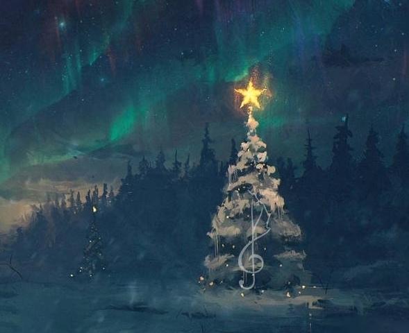 Новый год 2019, Гармония мира радио, онлайн радио, что слушать на Новый год
