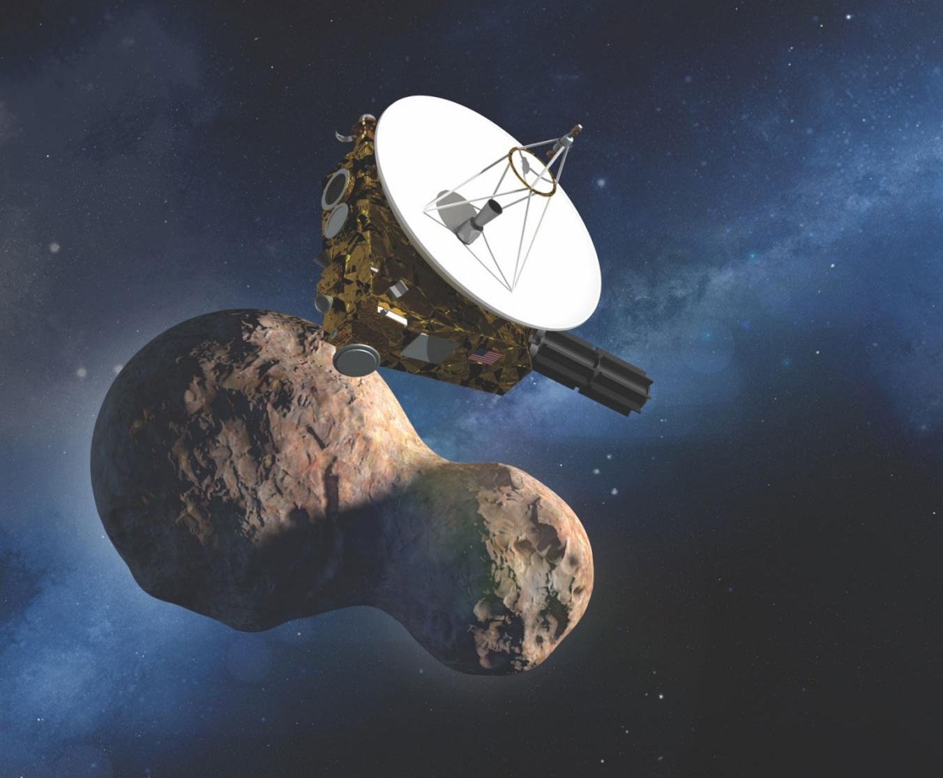 Звёздный мир, Гармония мира, станция «Новые горизонты» New Horizons, 2014 MU69 Ultima Thule, Double Asteroid Redirection Test DART, новости космоса