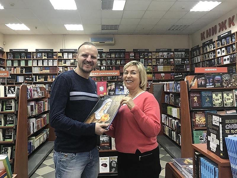 Эдуард Челбашев и Ирина Литовченко