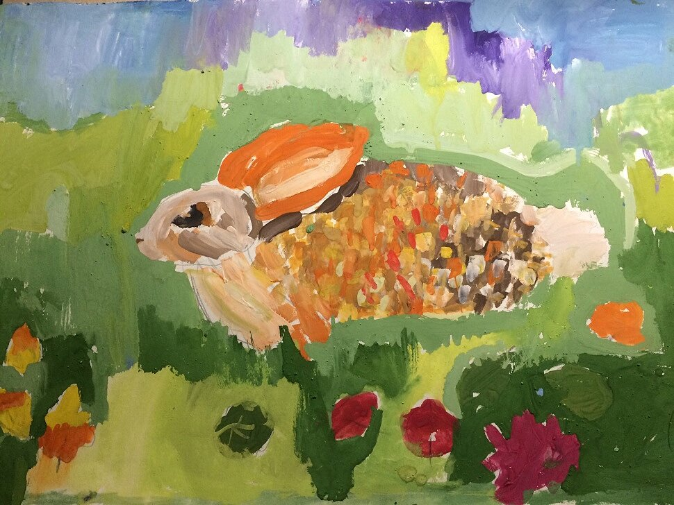 «Осенний заяц Арсений»